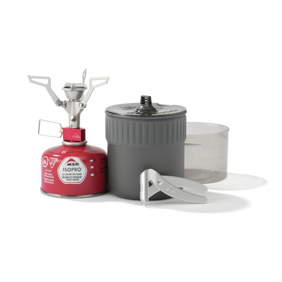 Naczynia i kuchenka PocketRocket 2 Mini Stove Kit