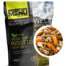 Gotowe danie - warzywne risotto z tofu (bezglutenowe, wegan) 392 kcal