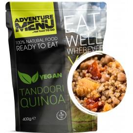 Gotowe danie - komosa ryżowa (quinoa)  tandori (wegan, bezglutenowe) 560  kcal