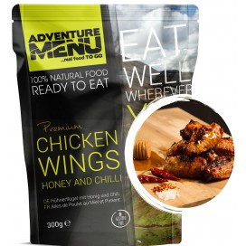 Gotowe danie -skrzydełka kurczaka z sosie miodowo chili (bezglutenowe) 585  kcal