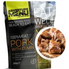 Gotowe danie -mięso wieprzowe z kminkiem  (bezglutenowe) 428 kcal