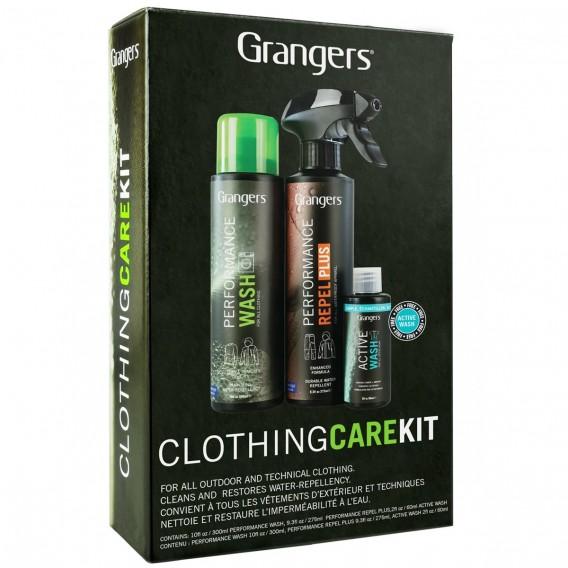 Zestaw do prania i impregnacji odzieży Granger`s Clothing Care Kit Plus