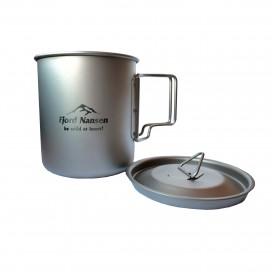 Kubek tytanowy JACON CUP TITANIUM 400 ml