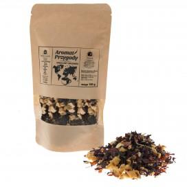 """Herbata """"Aromat przygody"""" Owocowy Grzaniec 100 g"""