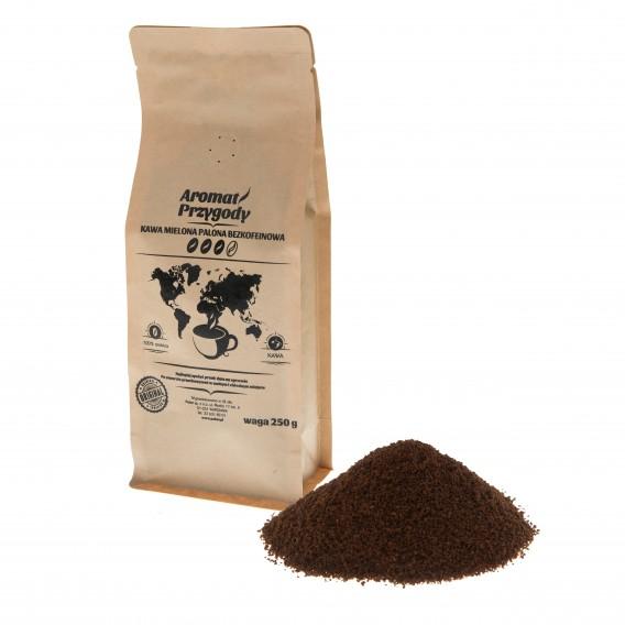 """Kawa mielona """"Aromat przygody"""" bezkofeinowa 250 g"""