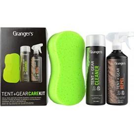 Zestaw do czyszczenia i impregnacji namiotów Granger`s Tent&Gear Care Kit