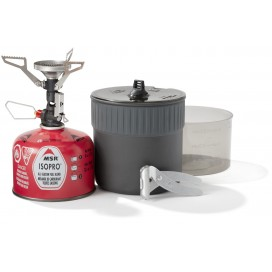Naczynia i kuchenka PocketRocket Deluxe Mini Stove Kit