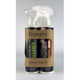 Zestaw do czyszczenia i impregnacji butów Granger`s Gear Cleaner & Footwear Repel Plus