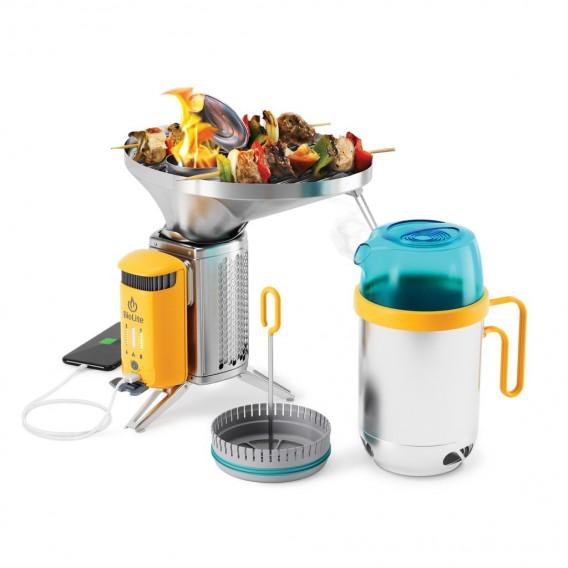 Zestaw kuchenny Biolite CampStove Bundle 2 Family