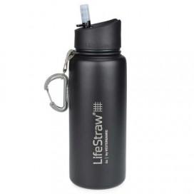Filtr do wody w stalowej butelce termicznej LifeStraw Go 2-stage Steel