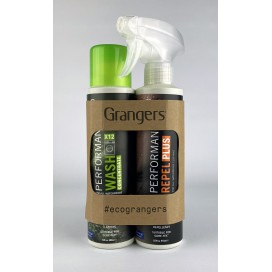 Zestaw do prania i impregnacji odzieży Grangers Performance Wash&Performance Repel Plus