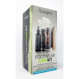Zestaw do czyszczenia i impregnacji butów Grangers Footwear Care Kit