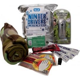 Zestaw bezpieczeństwa BCB dla zimowego kierowcy Winter Drivers Emergency Pack