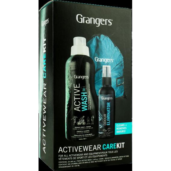 Zestaw do prania i odświeżania bielizny syntetycznej, polarów i merino Granger`s Activewear Kit