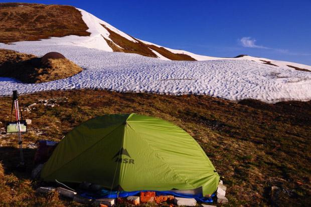 Test namiotu MSR Hubba – Paweł Kilen