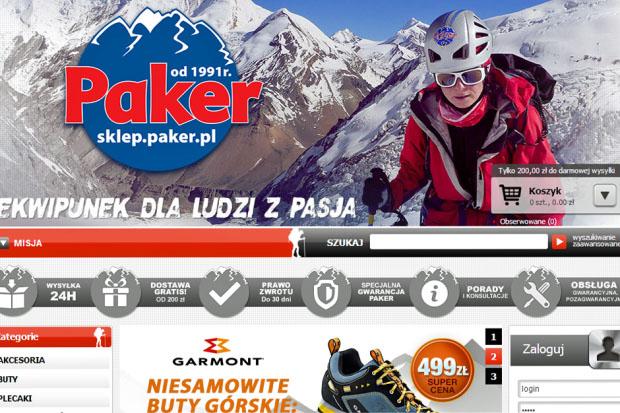 www.sklep.paker.pl – zmiany, zmiany, zmiany