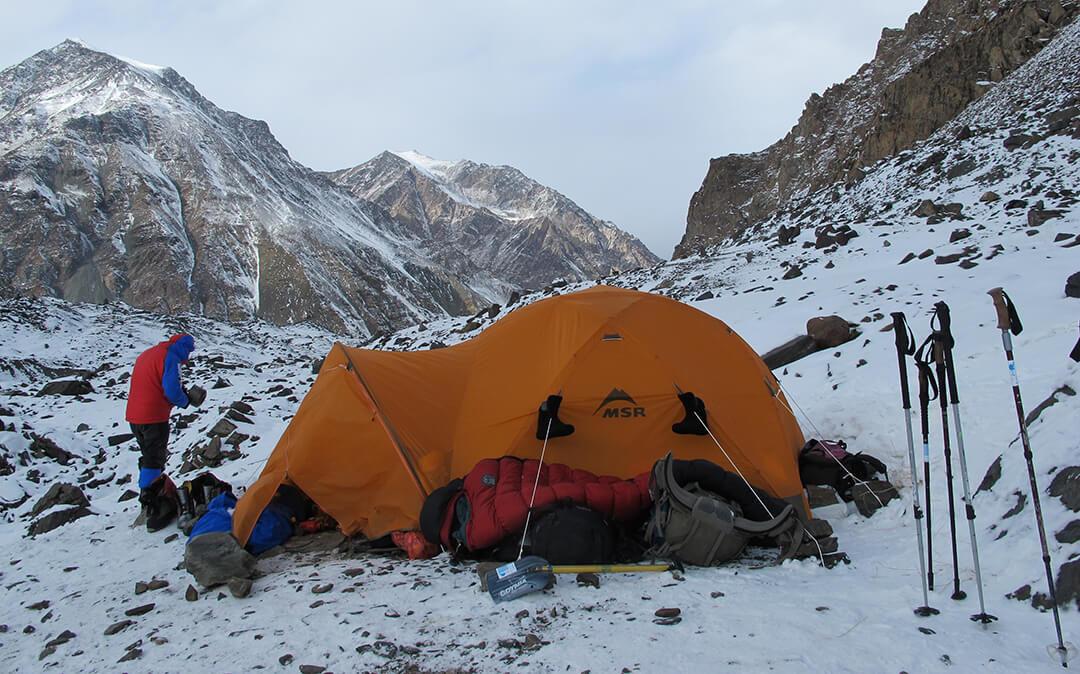 Test namiotu wyprawowego MSR Storm King