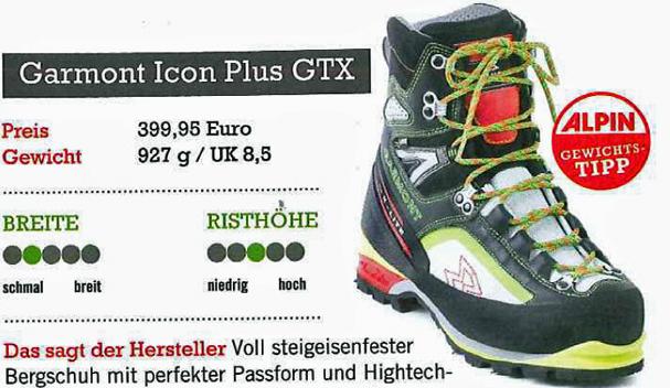 """Garmont Icon Plus GTX – """"bardzo interesującym i komfortowym technicznym butem"""" :-)"""