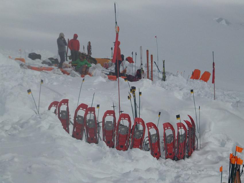Na Alasce bez rakiet śnieżnych ani rusz. Test modelu MSR EVO 22  – Monika Witkowska
