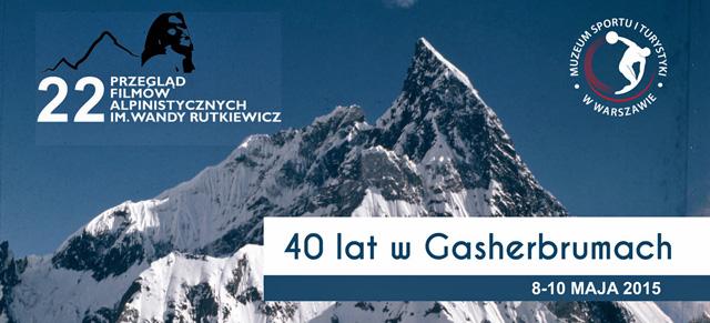 Zapraszamy na XXII Przegląd Filmów Alpinistycznych  im. Wandy Rutkiewicz