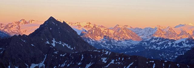 Mont Blanc od strony włoskiej: droga papieska