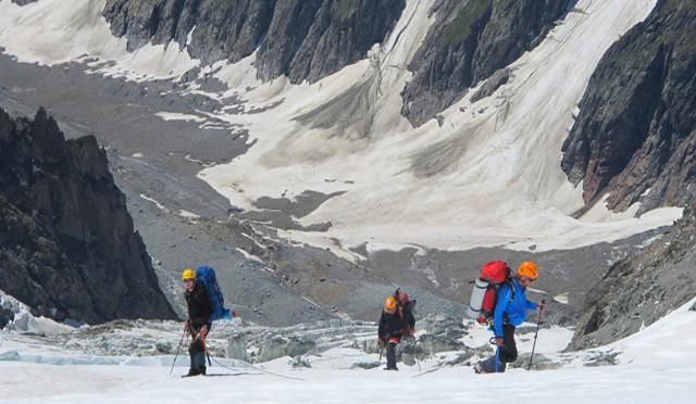 wyprawa na Mont Blanc 1