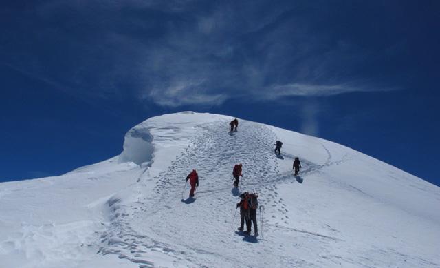 wyprawa na Mont Blanc 4