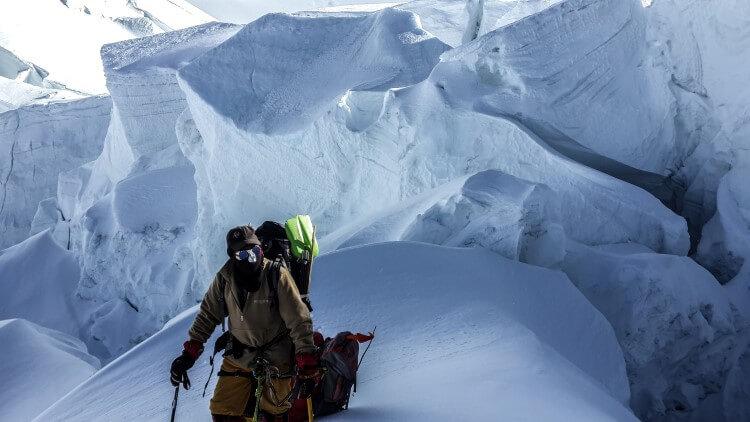 Test materaca Thermarest NeoAir Xtherm podczas wyprawy na Gasherbrum II