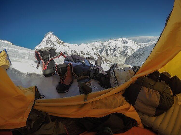 Wyprawa na Gasherbrum II - test neoair xtherm