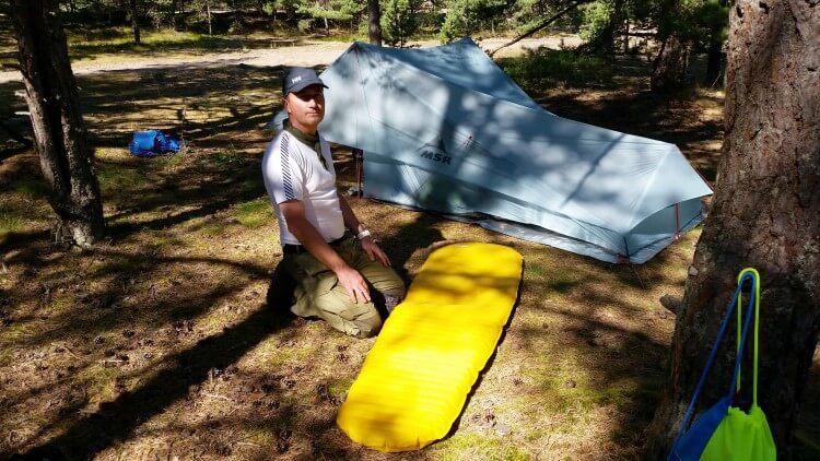 2 osobowy Namiot Turystyczny MSR Flylite • Test Rafała Króla