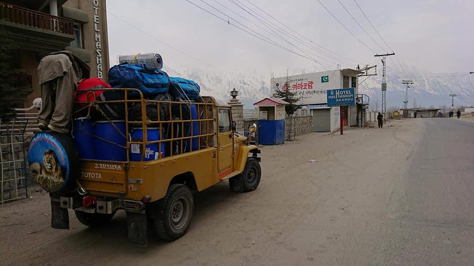 Z jakiego sprzętu korzystają uczestnicy Narodowej Zimowej Wyprawy na K2?
