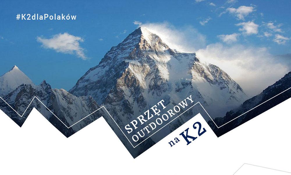 Sprzęt Outdoorowy biorący udział w Narodowej Wyprawie na K2 – Infografika