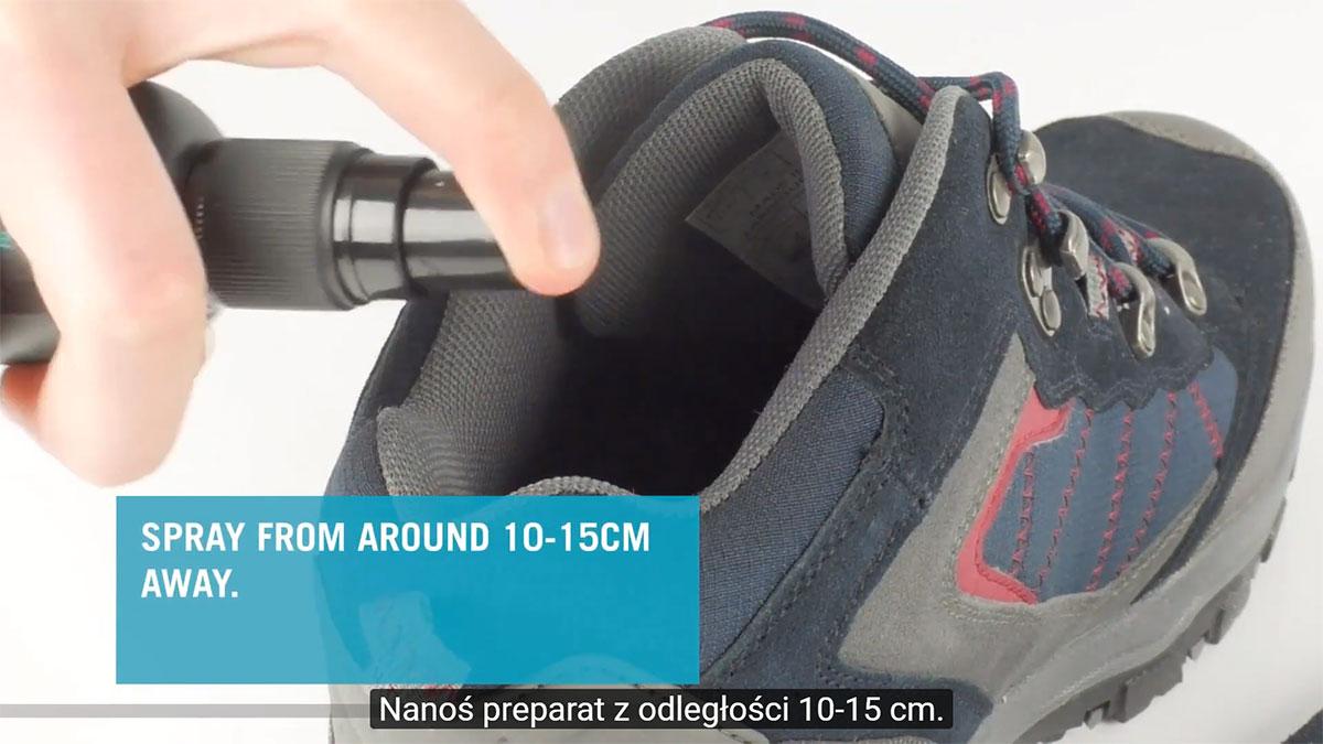 Jak zneutralizować niepożądane zapachy z butów lub ekwipunku