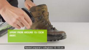 środek do czyszczenia butów turystycznych