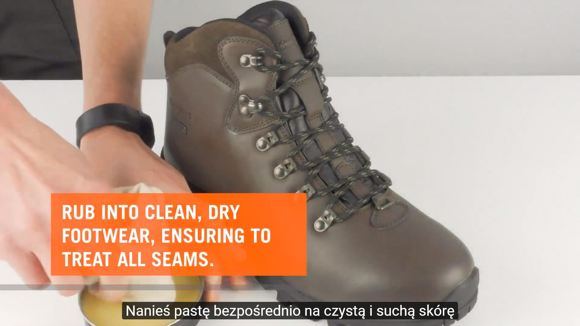 Jak impregnować obuwie przy pomocy pasty woskowej G-WAX