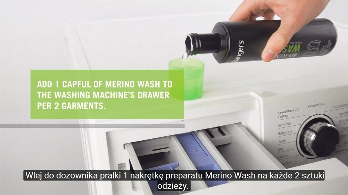 Jak dbać o odzież z wełny Merino korzystając z preparatu Merino Wash