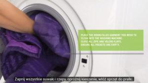 jak wyprać kurtkę puchową lub śpiwór puchowy