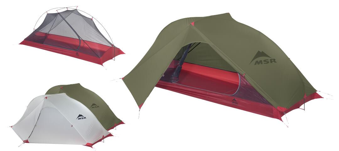 1-osobowy namiot bikepackingowy carbon reflex 1