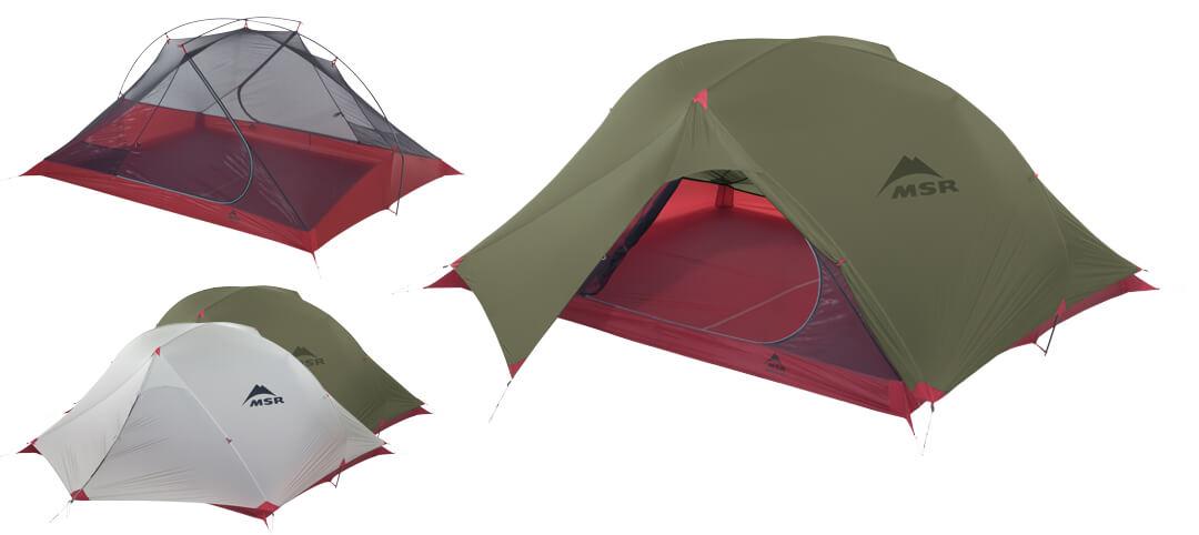 3-osobowy namiot do bikepackingu carbon reflex 3