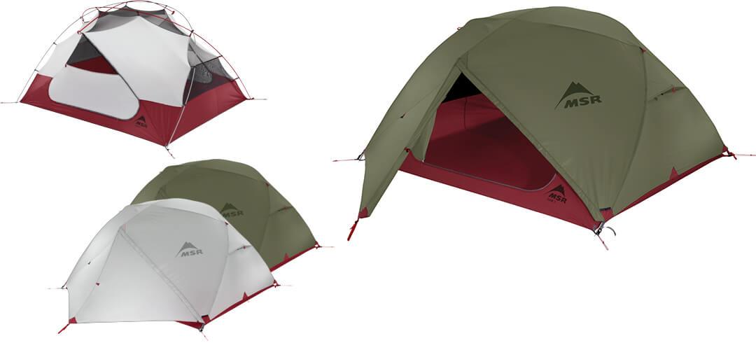 3-osobowy namiot turystyczny Elixir 3 (Edycja 2017)