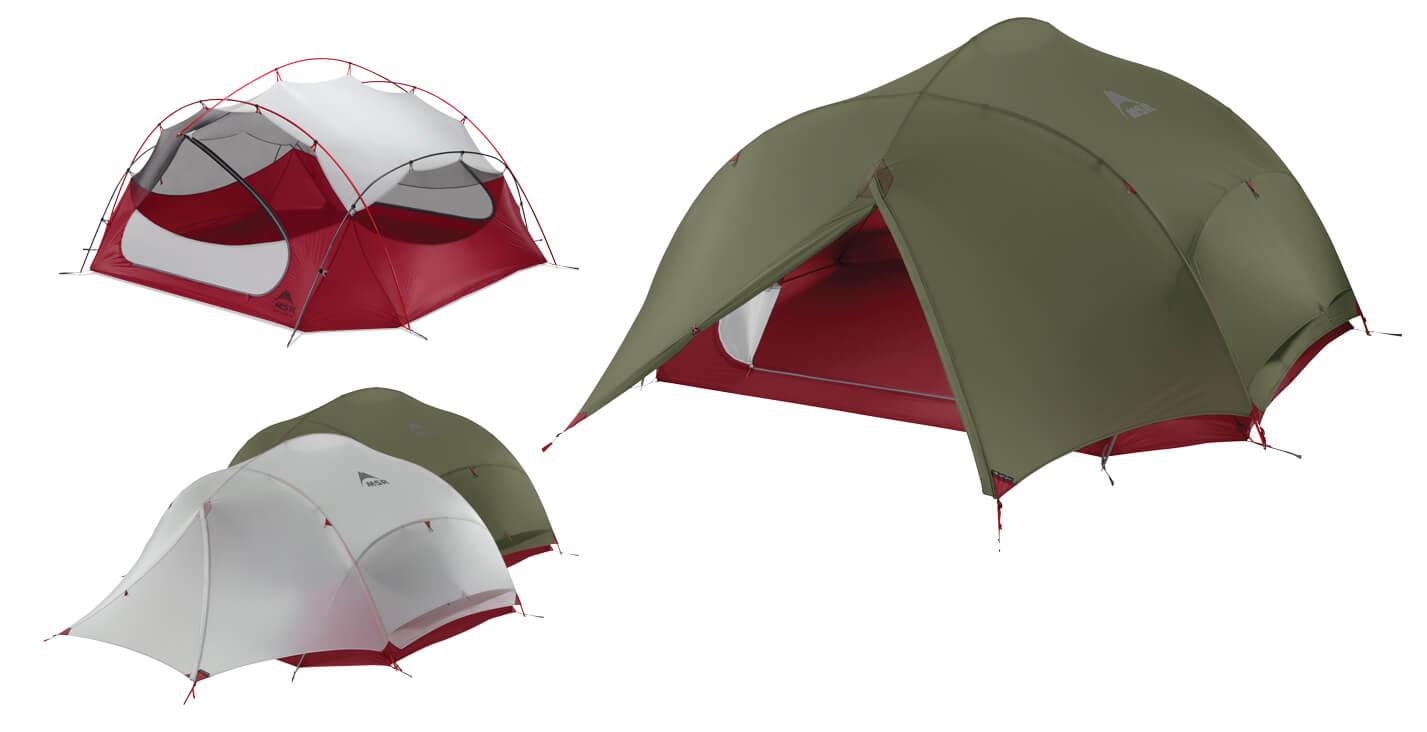 4-osobowy namiot turystyczny Papa Hubba NX