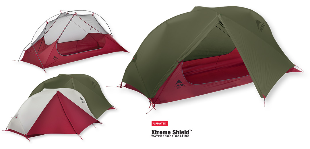 Ultralekki 1-osobowy namiot backpackingowy FreeLite 1 - Nowa Wersja 2018