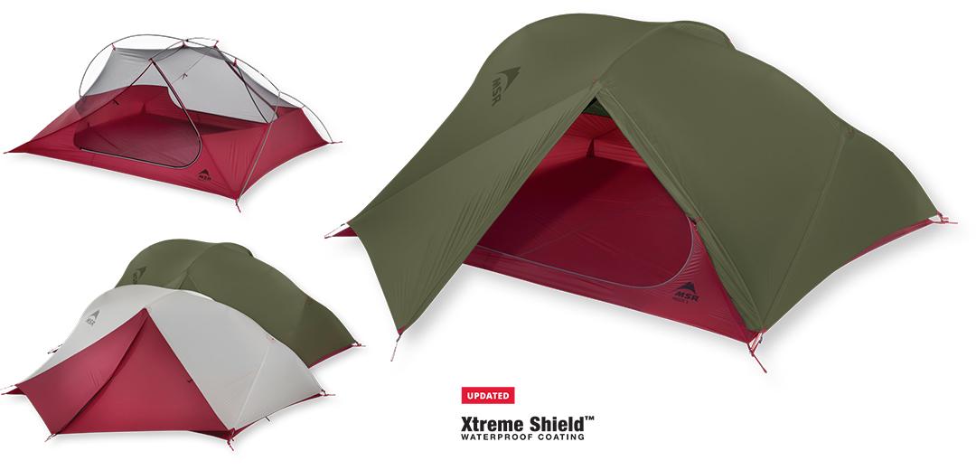 Ultralekki 3-osobowy namiot turystyczny do backpackingu MSR FreeLite 3 - Nowa Wersja 2018