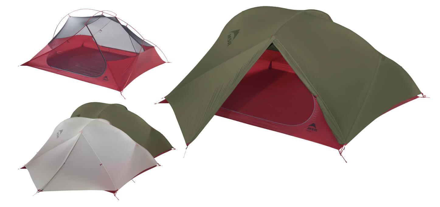 Ultralekki 3-osobowy namiot turystyczny do backpackingu MSR FreeLite 3
