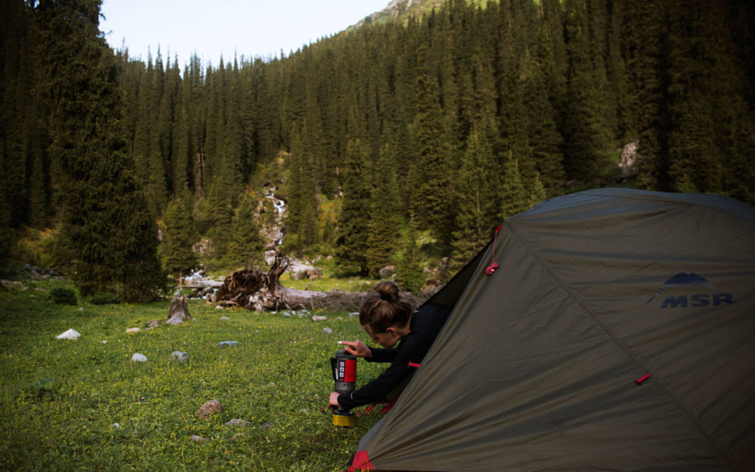Namiot Turystyczny Elixir 2 – Test Wioletty Chudek