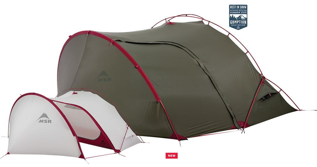 Jedyny taki na rynku namiot turystyczny Hubba Tour 1 przeznaczony do wypraw rowerowych lub motocyklowych