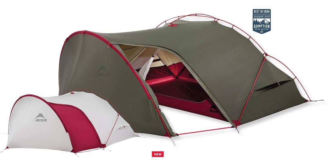 Jedyny taki na rynku namiot turystyczny Hubba Tour 2 przeznaczony do wypraw rowerowych lub motocyklowych