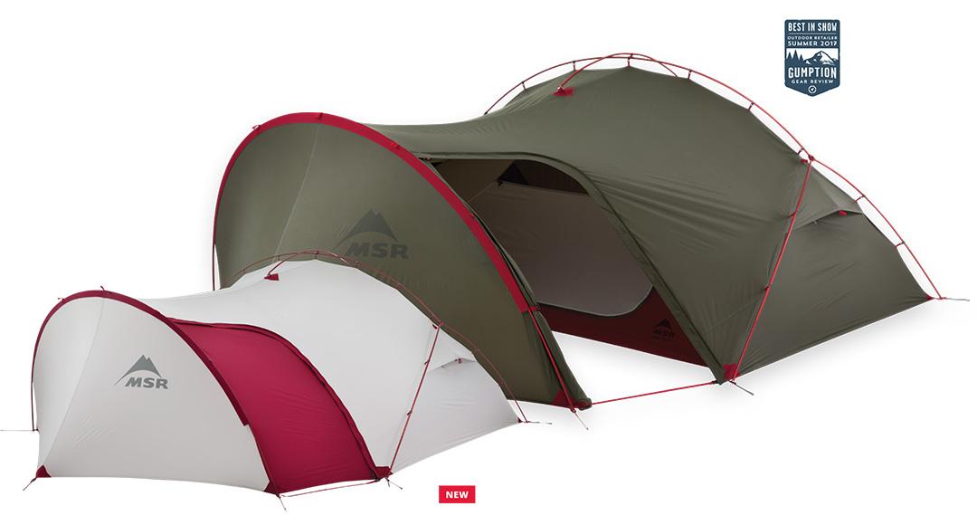 Jedyny taki na rynku namiot turystyczny Hubba Tour 3 przeznaczony do wypraw rowerowych lub motocyklowych