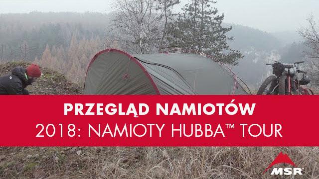 Nowe Namioty Rowerowe Hubba Tour