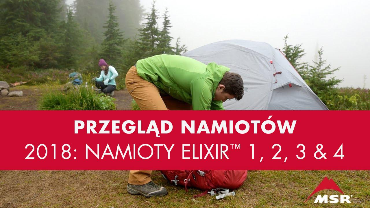 Przegląd Namiotów 2018 – Udoskonalony Namiot Elixir